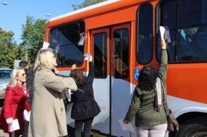 ação sedufsm ônibus