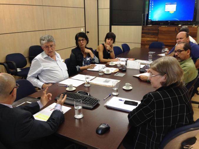 Reunião com a Sesu/MEC